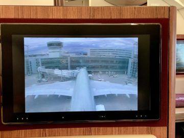 qatar airways first class a380 flightshow 5