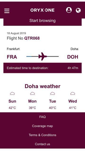 qatar airways first class a380 internet 6