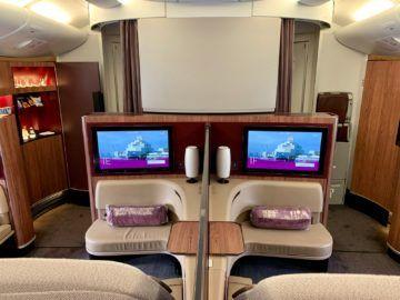 qatar airways first class a380 kabine 1