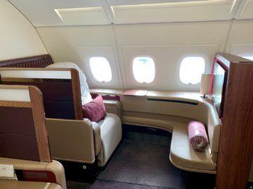 qatar airways first class a380 sitz 2