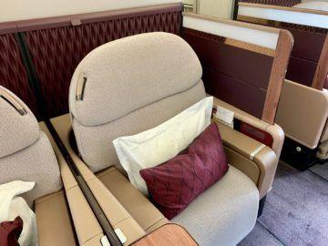 qatar airways first class a380 sitz 4