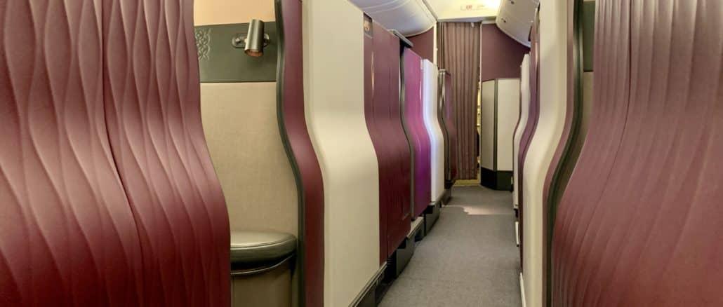 qatar airways qsuite boeing 777 300er kabine 2