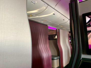 qatar airways qsuite boeing 777 300er kabine 4
