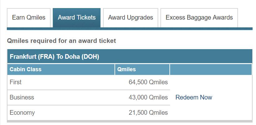 qatar privilege club praemienflug frankfurt doha
