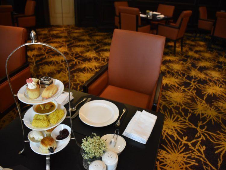 Ritz-Carlton Kuala Lumpur Club Lounge Afternoon Tea