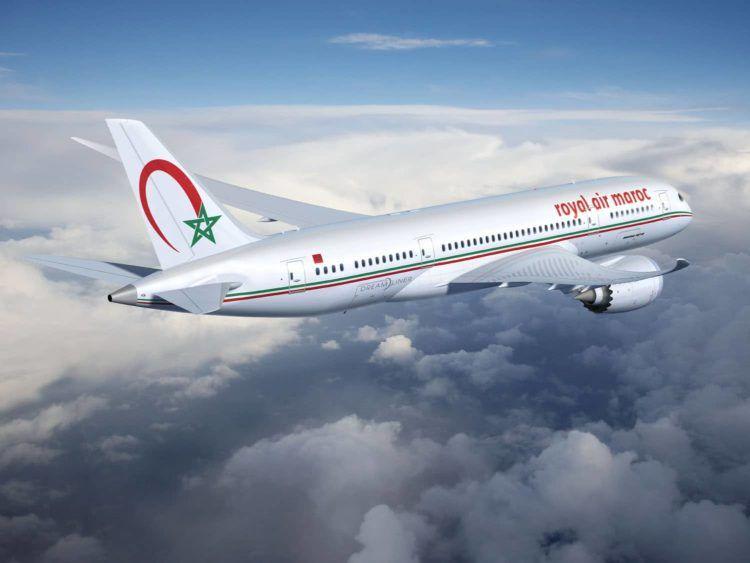 royal air maroc b787 dreamliner