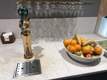 SAS Gold Lounge Oslo-Gardermoen Carlsberg