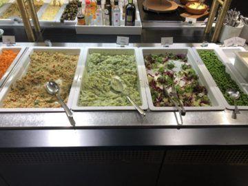 sas gold lounge oslo gardermoen salat