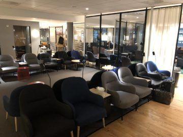 SAS Gold Lounge Oslo-Gardermoen Lounge Sitze