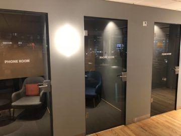SAS Gold Lounge Oslo-Gardermoen Telefonkabinen