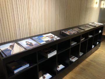 SAS Gold Lounge Oslo-Gardermoen Zeitschriften