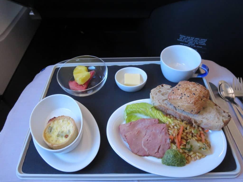 SAS Business Class Essen vor der Landung