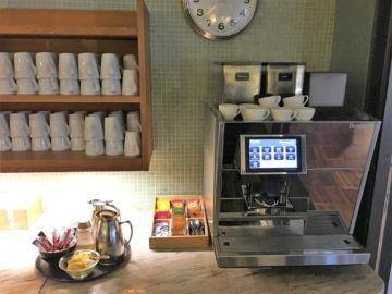 sas gold lounge kopenhagen kaffemaschine tee