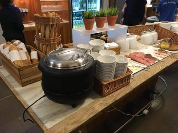 sas gold lounge kopenhagen suppe