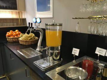 sas gold lounge stockholm orangensaft