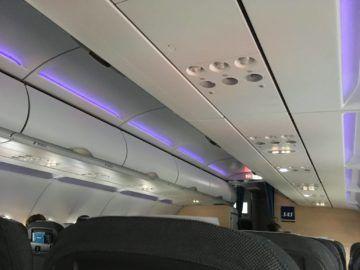 sas sasplus a320 kabine