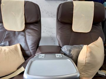 silkair business class boeing 737 800 sitz 1