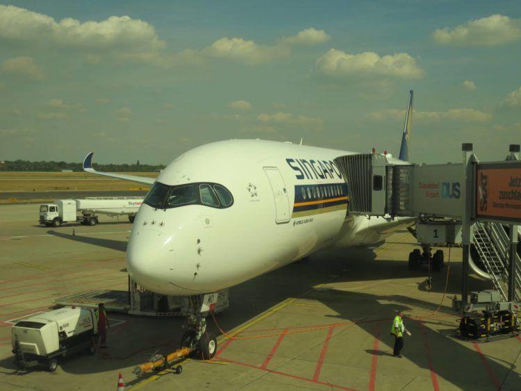 singapore airlines a350 dus 1
