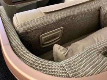 singapore airlines business class a350 900ulr bett hebel