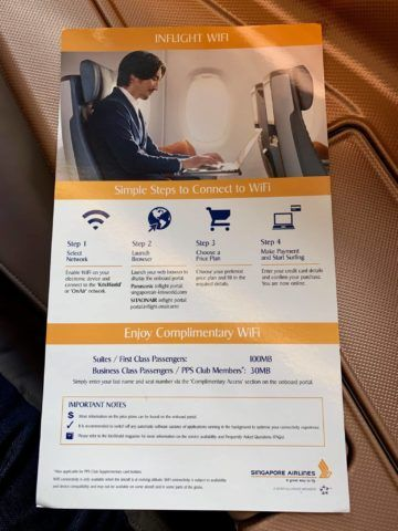 singapore airlines business class a350 900ulr wifi 0