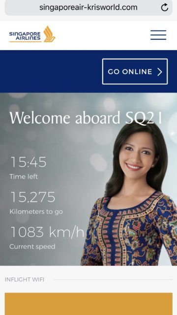 singapore airlines business class a350 900ulr wifi 1