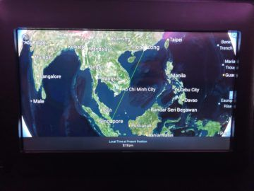 singapore airlines business class a380 800 neu flugroute