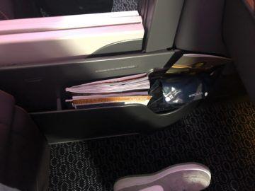 singapore airlines business class a380 800 neu zeitschriften kopfhoerer
