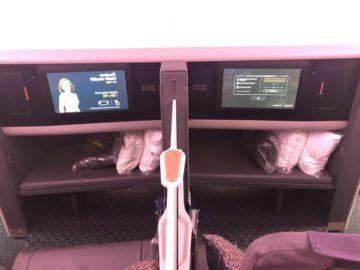 singapore airlines business class neu a380 800 erste reihe