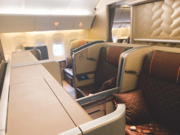 singapore airlines first class 777 300er kabine 1