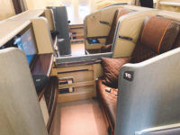 singapore airlines first class 777 300er kabine 4