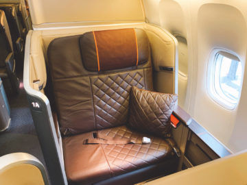 singapore airlines first class 777 300er sitz 1