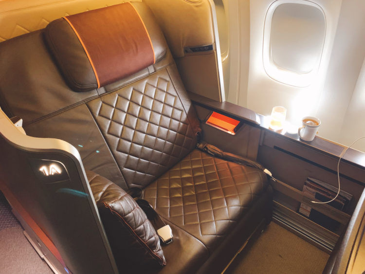 singapore airlines first class 777 300er sitz 4