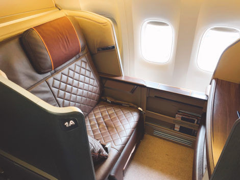 singapore airlines first class 777 300er sitz 6