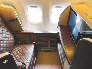 singapore airlines first class 777 300er sitz 7