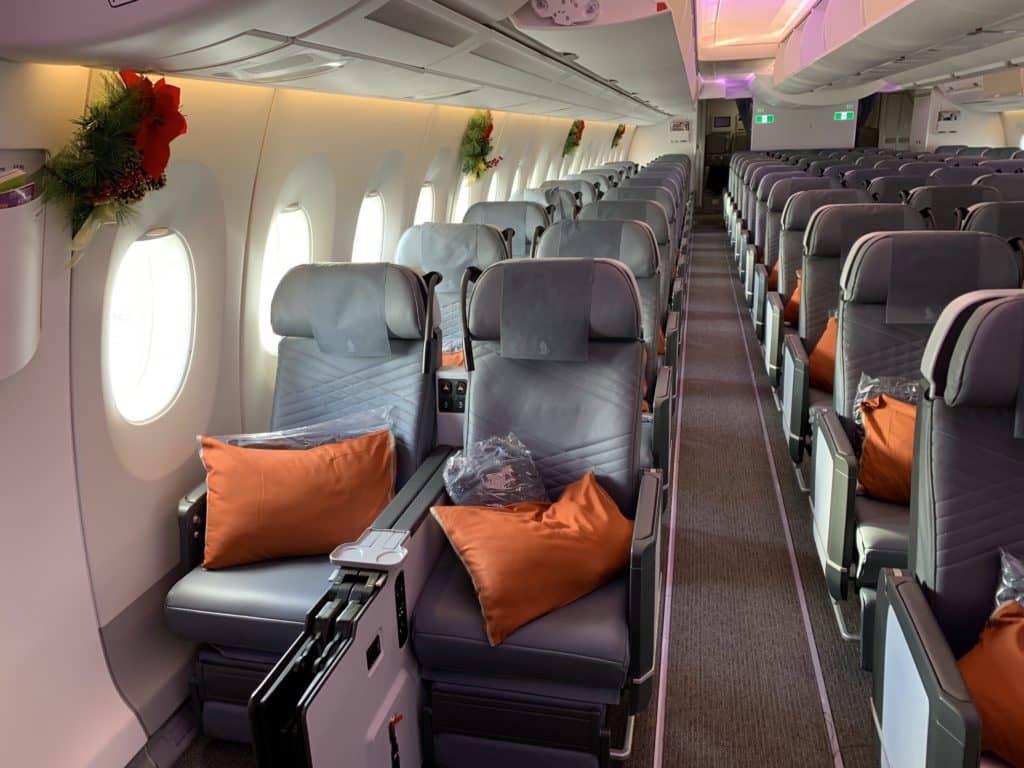Die Singapore Airlines Premium Economy Class