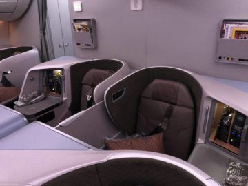 singapore airlines regional business class a350 900 dopelsitz mitte
