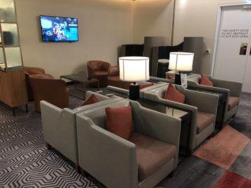 singapore airlines silverkris lounge brisbane blick in die lounge