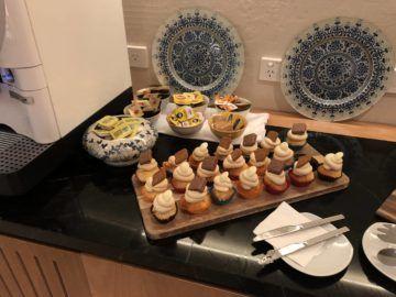singapore airlines silverkris lounge brisbane muffins