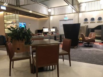 singapore airlines silverkris lounge brisbane sitzbereich lounge