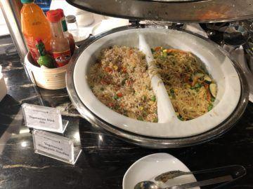 singapore airlines silverkris lounge brisbane vegetaraisch
