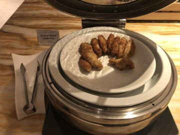 singapore airlines silverkris lounge terminal 2 breaded chicken