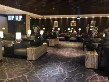 singapore airlines silverkris lounge terminal 2 lounge