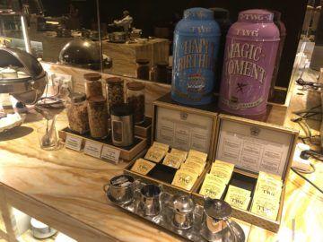 singapore airlines silverkris lounge terminal 2 tee snacks