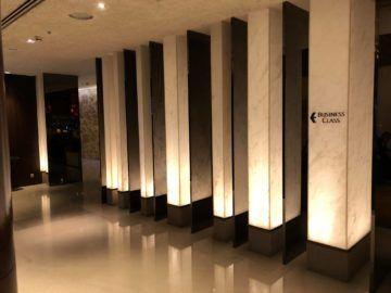 singapore airlines silverkris lounge terminal 3 eingangsbereich