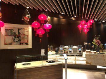 singapore airlines silverkris lounge terminal 3 kaffeecorner