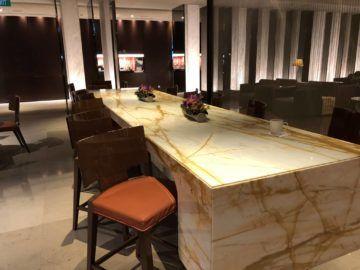singapore airlines silverkris lounge terminal 3 restaurantbereich