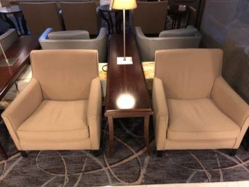 singapore airlines silverkris lounge terminal 3 sessel