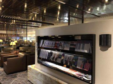 singapore airlines silverkris lounge terminal 3 zeitschriften2