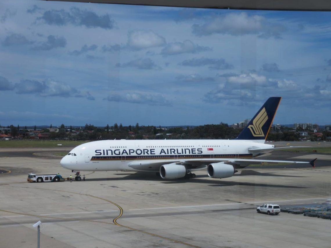 (Nicht mein) Singapore Airlines A380-800