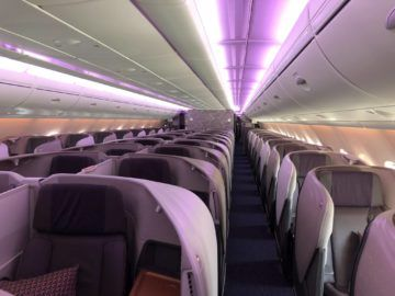 singapore airlines neue business class a380 kabine 1
